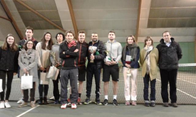 Tournoi 3ème et 2nde série Noël 2017