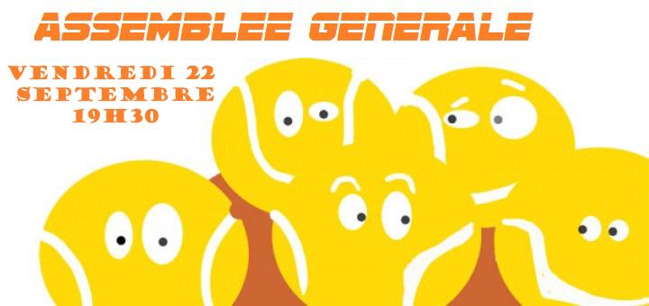 Assemblée Générale : Vendredi 22/09 à 19h30