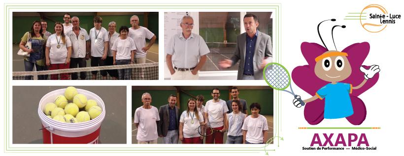 AXAPA soutient le tennis adapté